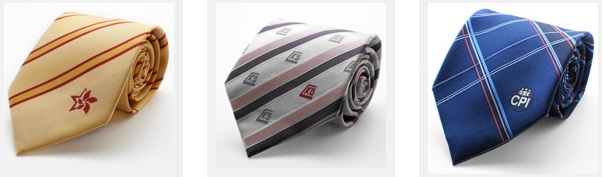 custom made silk necktie