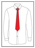 Tie a necktie final step