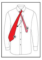 tie a necktie step 2