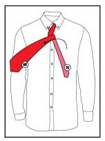 Tie a necktie step 4